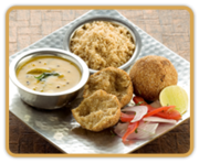Rajdhani Recipe of the Month - Dal Baati Churma