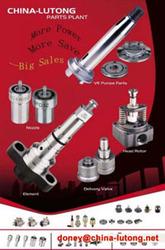 diesel part (head rotor, nozzle, plunger, valve)